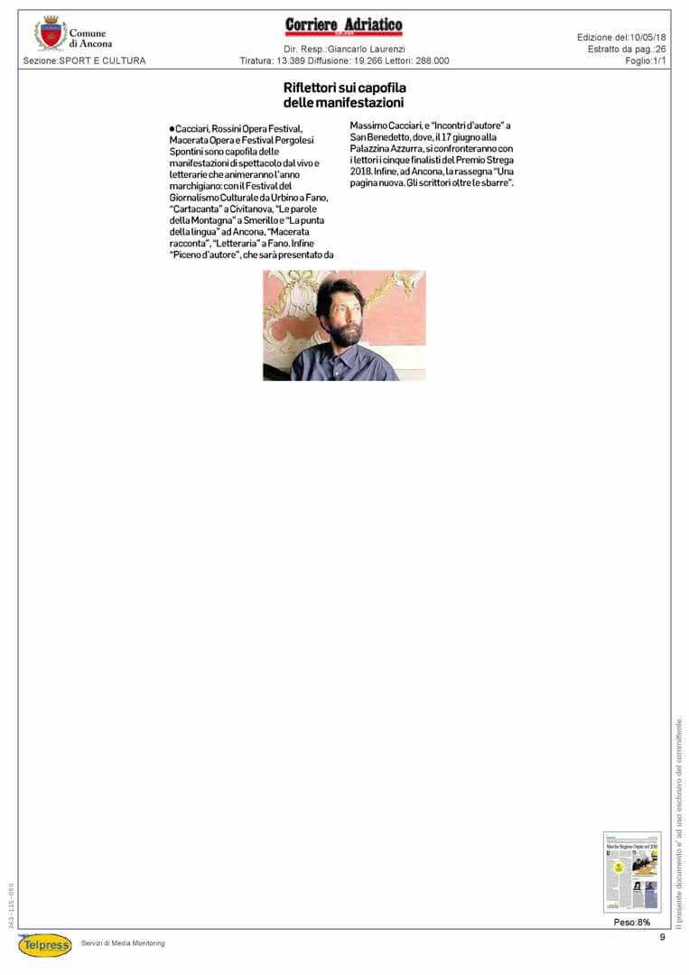 10-05-18 Corriere Adriatico