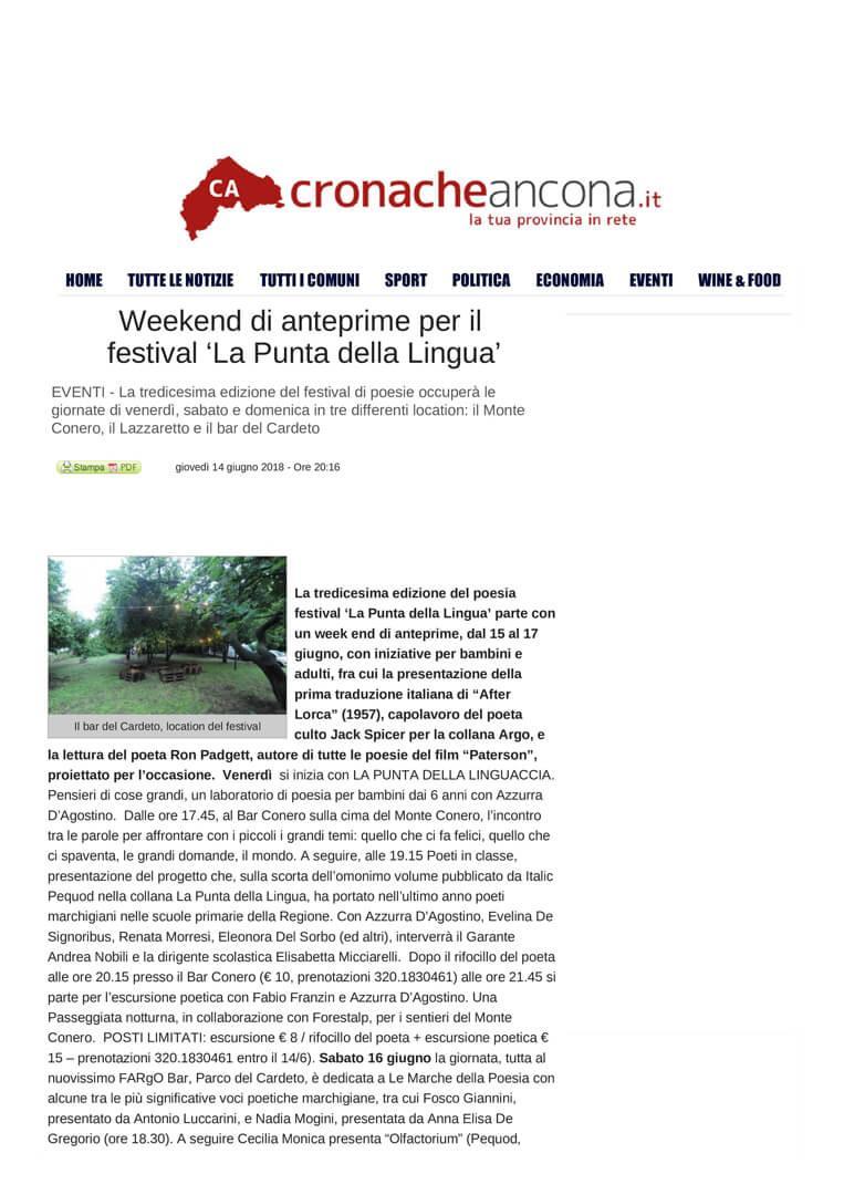 14-06-18 Cronache Ancona pag 1