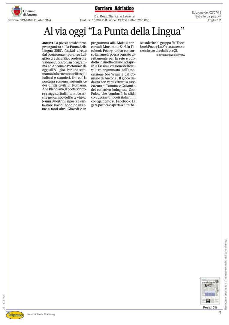 2-07-18 Corriere Adriatico