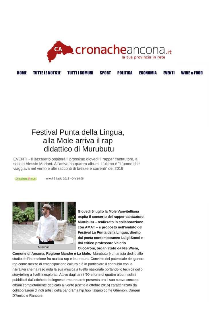 2-07-18 Cronache Ancona pag 1