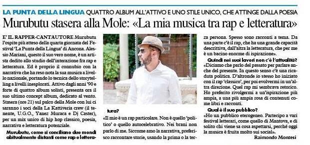 5-07-18 Il Resto del Carlino (Ancona)