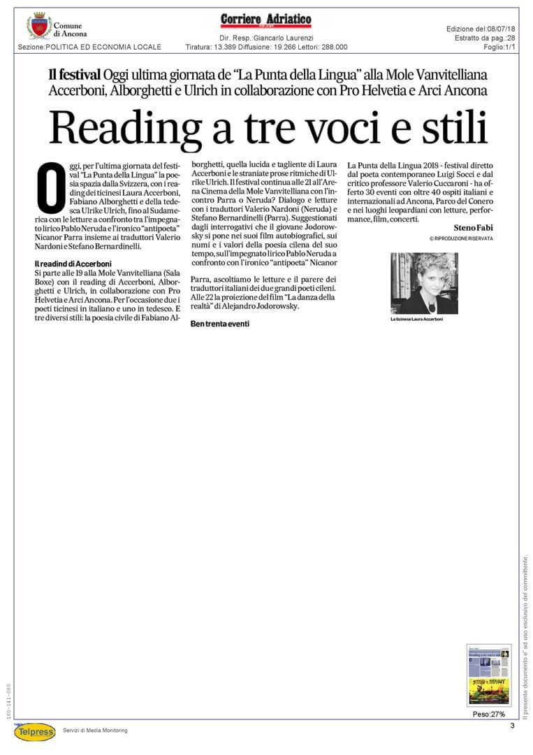 8-07-18 Corriere Adriatico